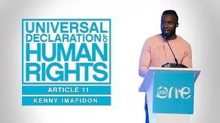 30 days till #OYW2018, 30 Human Rights - Article 11 in Action
