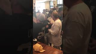 86-Year-Old Raiders Fan Gets In Face Of Mark Davis, Yells At Him For Moving Team To Vegas