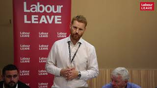 Paul Embery talk at Labour Leave fringe, Labour conference 2018