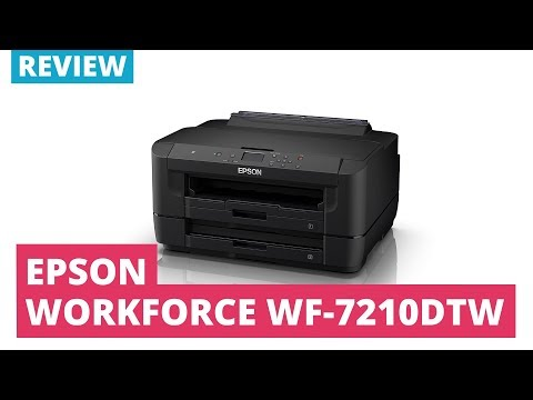 Printerland Review: Epson Workforce WF-7210DTW A3 Colour Inkjet Printer