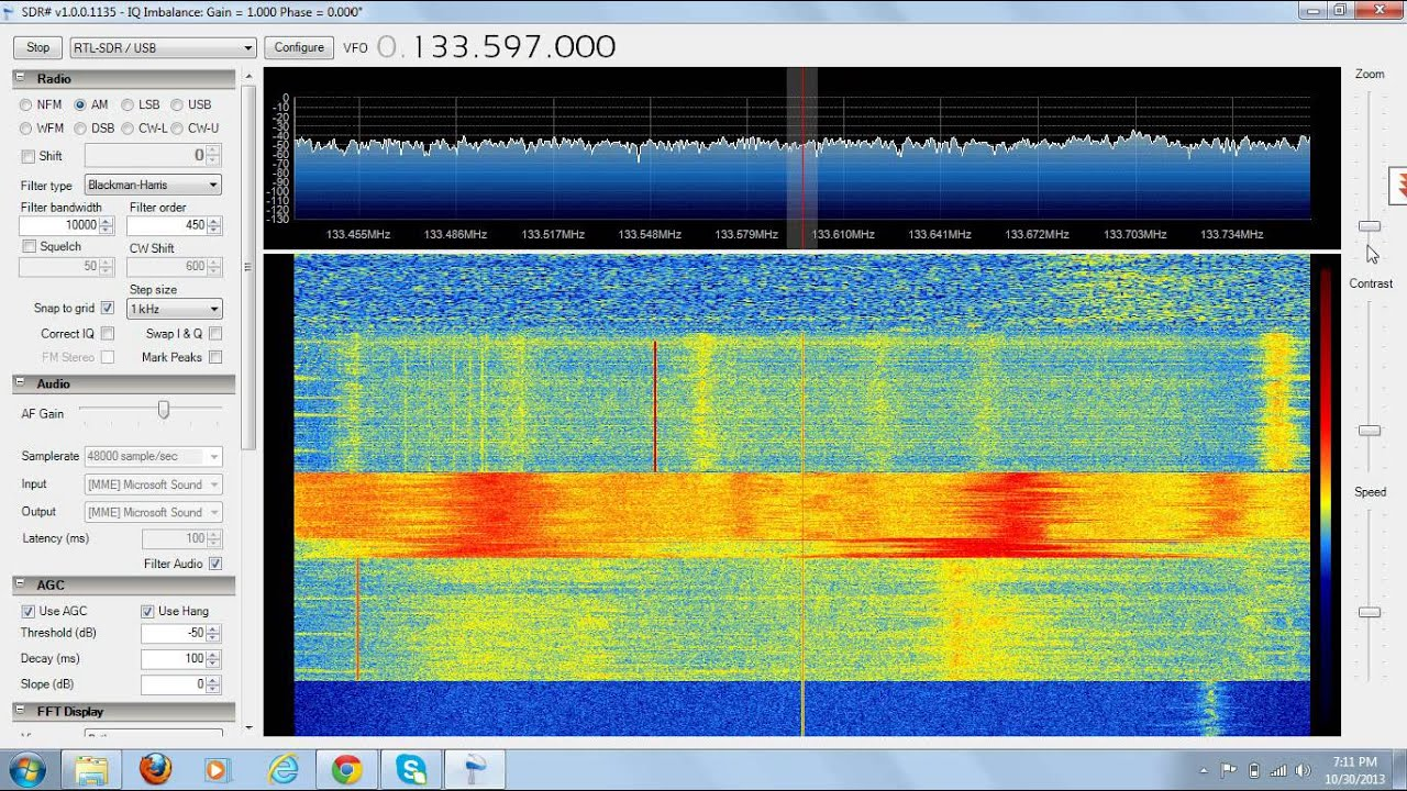 RTL SDR Airband 120-130mhz