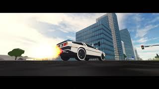 Roblox Cinematic Project | Vehicle Simulator | Delorean