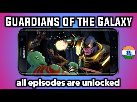 Guardians Of The Galaxy Game For All Episode Unlocked