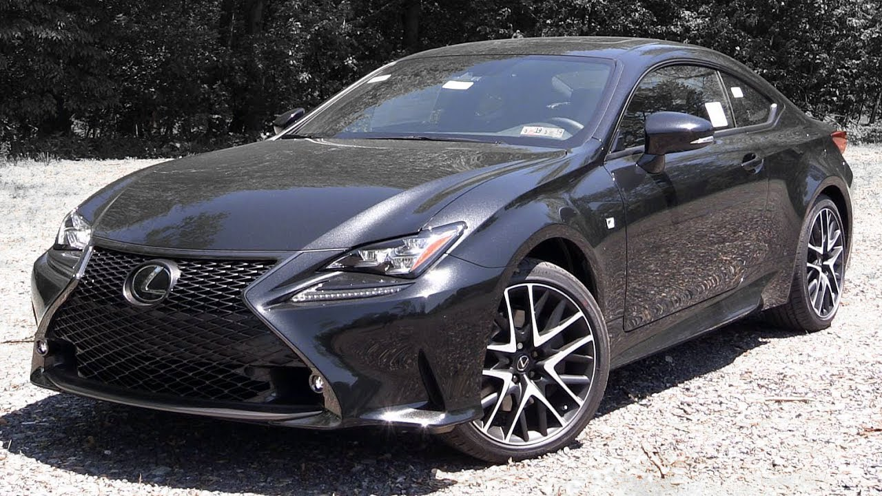 2018 lexus rc 300 f sport review youtube. Black Bedroom Furniture Sets. Home Design Ideas
