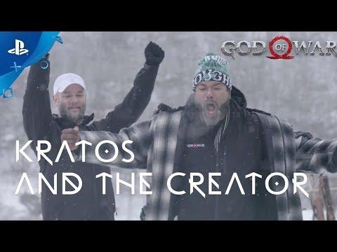 God of War - God Meets Creator   PS4