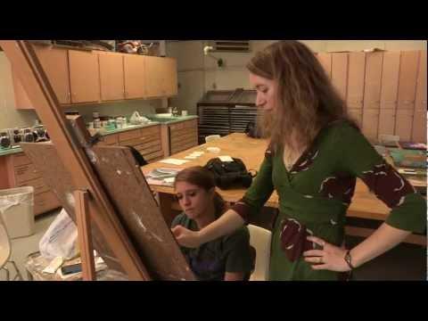 Rachel Buller - Fighting For Art - Hatteberg's People TV