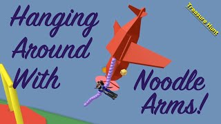 Swinging around con Noodle Arms en Roblox
