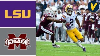 #2 LSU vs Mississippi State Highlights | Week 8 | College Football Highlights