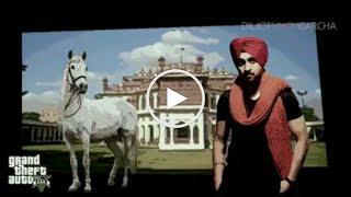GTA 5 With Diljit Dosanjh JATT FIRE KARDA LATEST PUNJABI SONG 2015