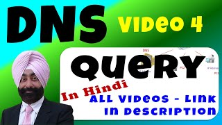 DNS Query - डीएनएस क्वेरी - Video 4
