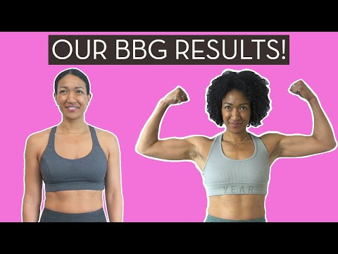We Did 16 Weeks Of BBG Workouts | Our Results and…}