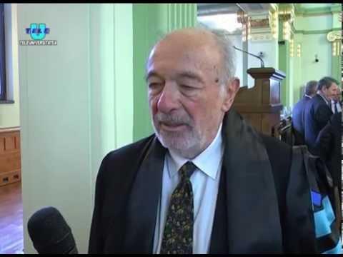 TeleU: Profesorul Peter G. O. Freund a primit titlul de DOCTOR HONORIS CAUSA