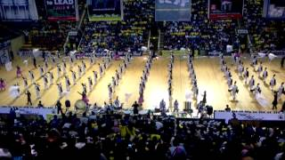 Marching Band Semen Gresik Indonesia at final GPMB 2012, Jakarta
