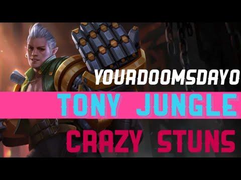 TONY UTILITY JUNGLE CRAZY GANKS AND STUNS - VAINGLORY 5V5 RANKED TIPS
