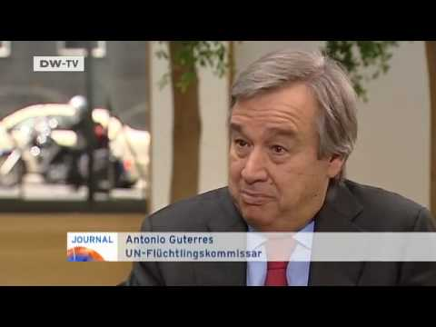 Antonio Guterres, UN-Flüchtlingskommissar | Journal-Interview