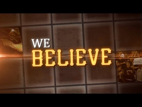 "Pittsburgh Pirates 2015 Playoff Pump-Up Video - ""We Believe"""
