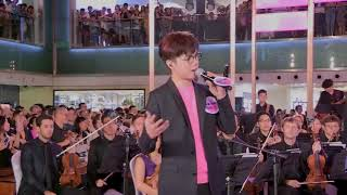張敬軒 Music in Town 2017 閉幕演奏會 (from 沙田新城市) 騷靈情歌/酷愛/青春常駐/櫻花樹下