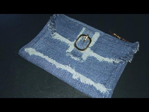 Сшить кошелек из джинсов своими руками мастер класс разные модели