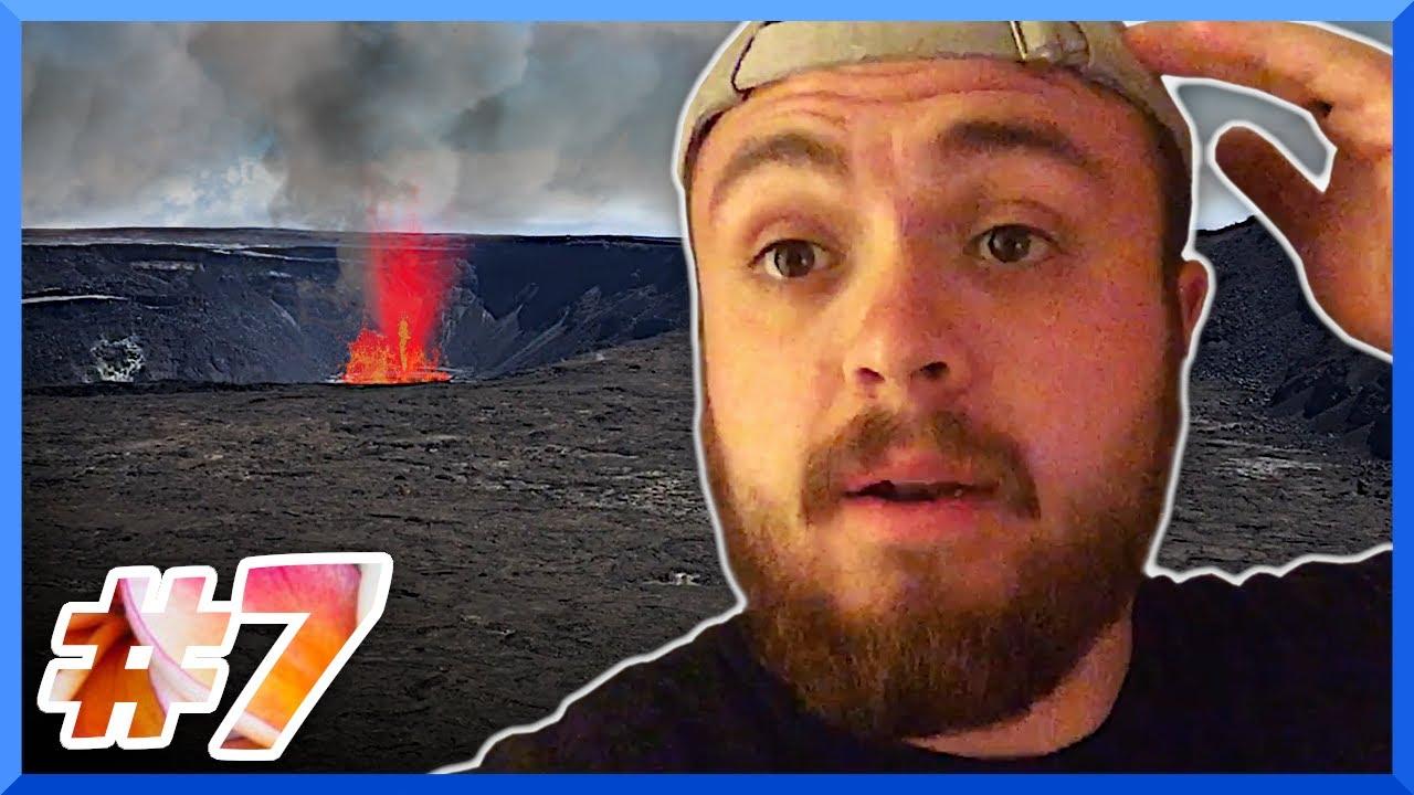 Visiting an active volcano! 🌋 | Hawaii Vlog #7