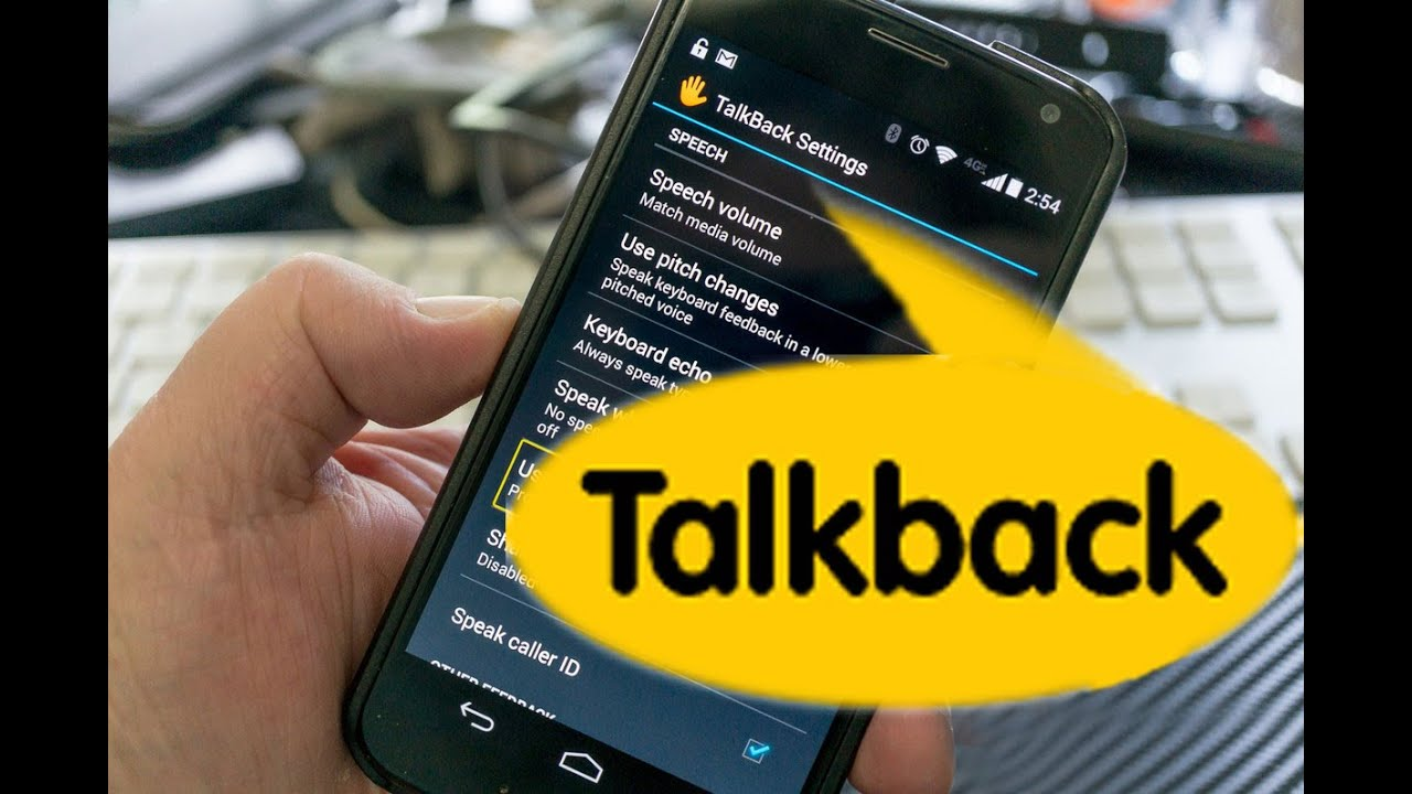 android how to turn off talkback