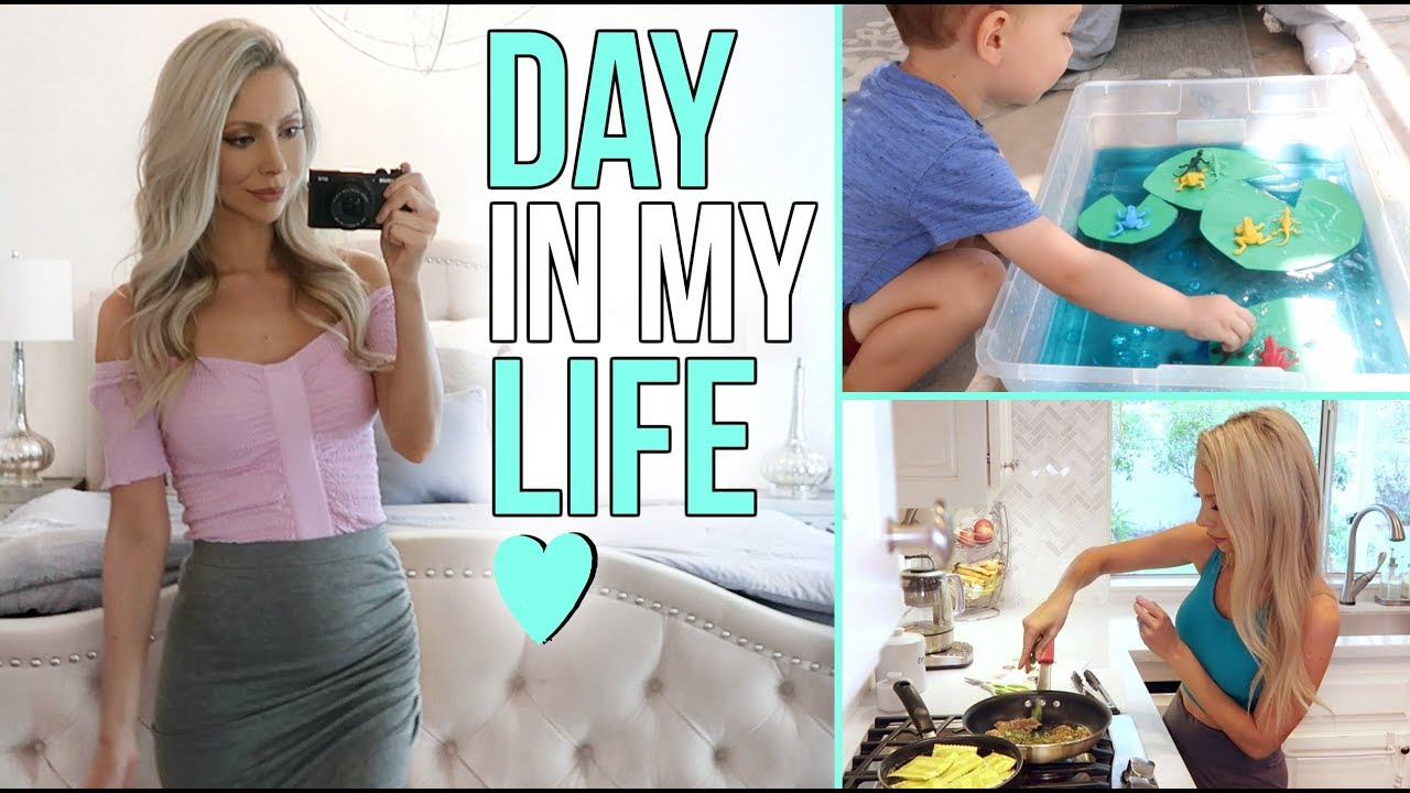 DAY IN MY LIFE! Cooking, Fitness, Mom's Night Out