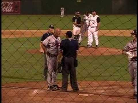 Rome Braves manager Randy Ingle goes nuts.