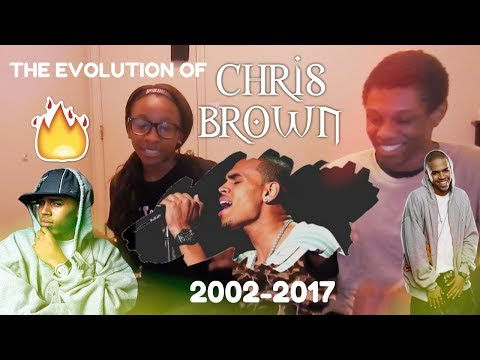 The EVOLUTION Of Chris Brown