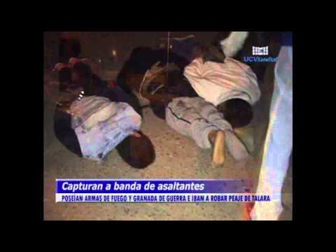 ESPECTACULAR CAPTURA DE ASALTANTES - UCV NOTICIAS PIURA