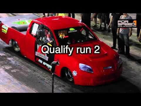 Drag All new ISUZU Open Unlimited By Isuzu Race Spirit สนามสุดท้ายปี 2015