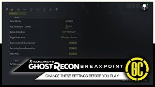 Change These Settings Before You Play Ghost Recon Breakpoint