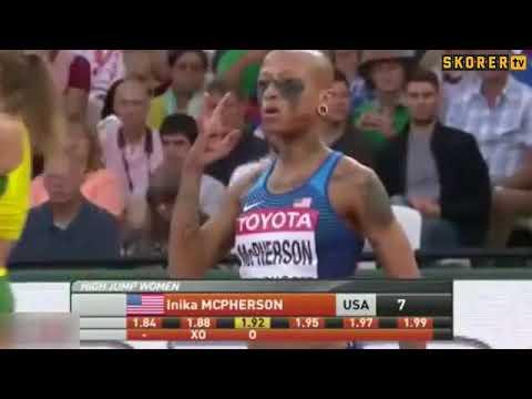 Amerikalı atletin ilginç tarzı...