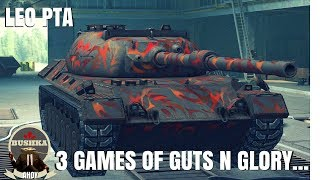 Three PTA Games of Justice and Integrity World of Tanks Blitz