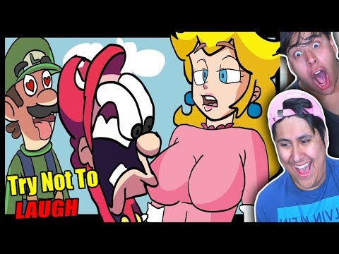Try Not To Laugh! Mario Parody Edition