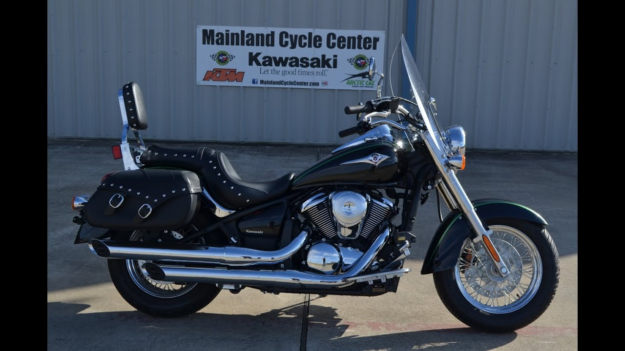 $7,499: 2015 kawasaki vulcan 900 classic lt overview and review