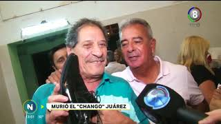 Murió el querido humorista cordobés Chango Juárez