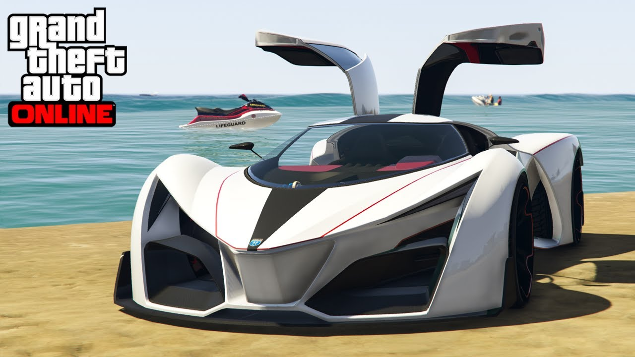 new voiture gta 5 prototipo grotti x80 youtube. Black Bedroom Furniture Sets. Home Design Ideas