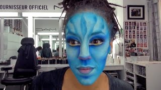 TORUK Na'Vi Artist Makeup Transformation | by Cirque du Soleil