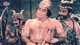Hanuman sets fire in Lanka - Sampoorna Ramayan Scene