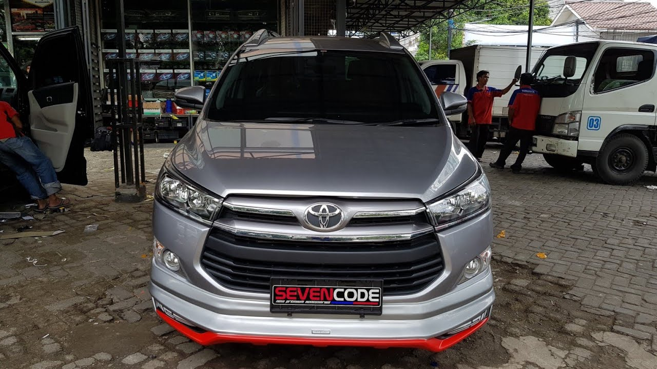 bodykit all new kijang innova grand avanza veloz ativus vtm mix modification youtube