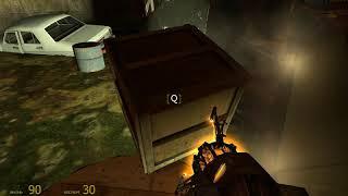 Half Life 2 . Тунель . Часть  17 .