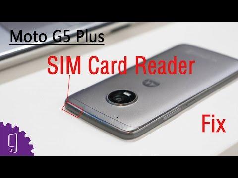 Moto G5 Plus SIM Card Reader Repair Guide