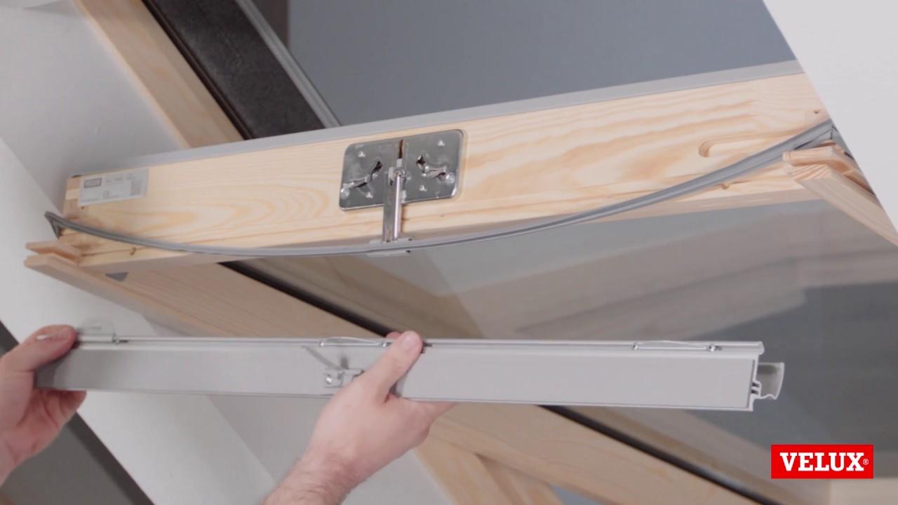 changer store velux trendy gallery of ressort volet roulant velux avec comment changer votre. Black Bedroom Furniture Sets. Home Design Ideas