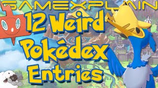 12 WEIRD Pokédex Entries in Pokémon Sword & Shield! (Choking Cramorant, Yummy Appletun, & More!)