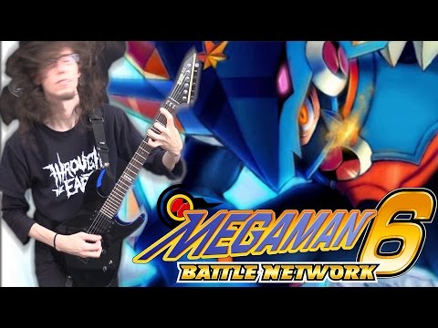 Mega Man Battle Network 6 SURGE OF POWER - Metal Cover || ToxicxEternity