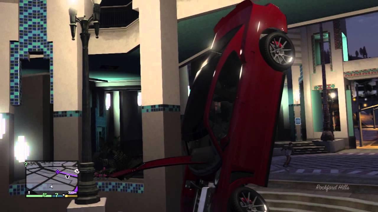 gta v tutorial - come trovare la bugatti veyron, la macchina piu