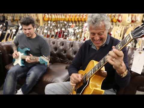 Jam Session!!! Paul Brown & Peter Farrell - Fender Stratocaster & 1954 Gibson ES-175N