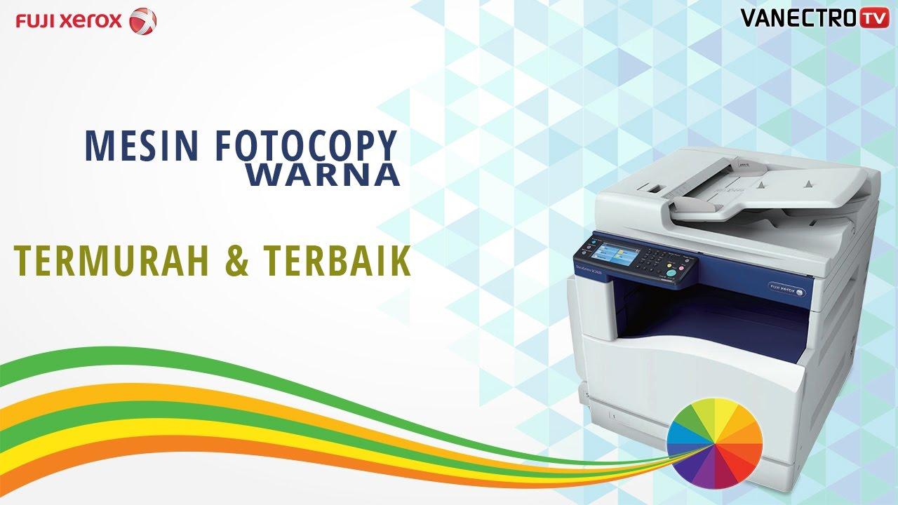 Mesin Fotocopy Warna Termurah Fuji Xerox Docucentre Sc2020 Youtube