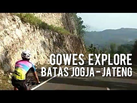Gowes Explore Perbatasan Jogja - Jateng, Rute Amazing !