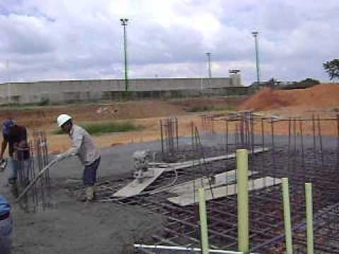 Vaciado de concreto en losa flotante youtube - Losas de hormigon para jardines ...