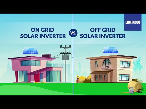 Solar System for Home: On Grid Solar System vs. Off Grid Solar System